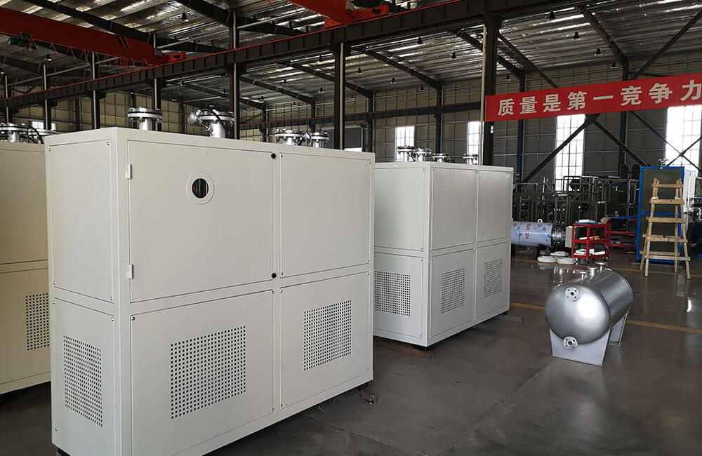 350KW thermal fluid hot oil heater