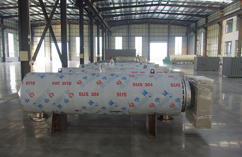600 KW Electric Process Air Heater