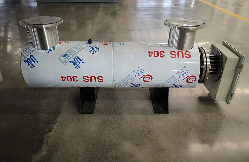 300 KW Pipe Type Air Heater