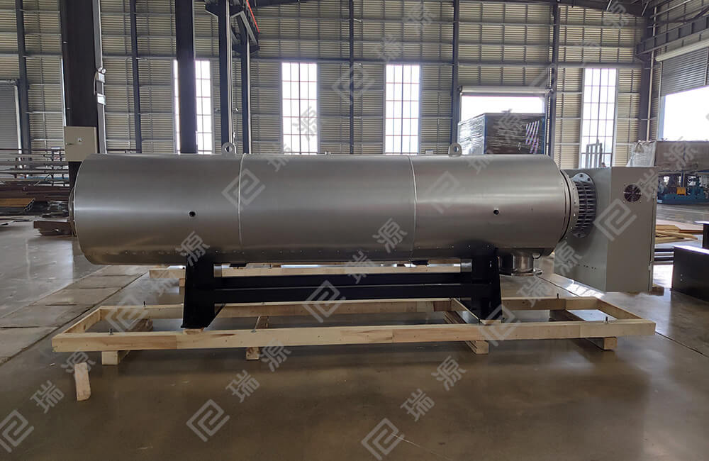 stainless steel air heating tank for 2400MM width of meltblown fabric production line