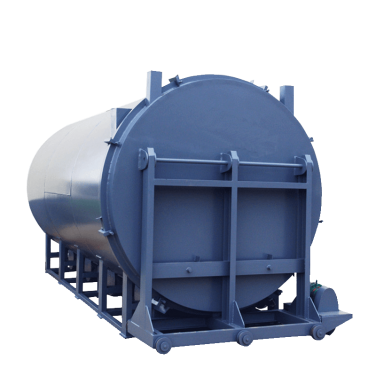 Vacuum Pyrolysis Furnace for Polymer Removal