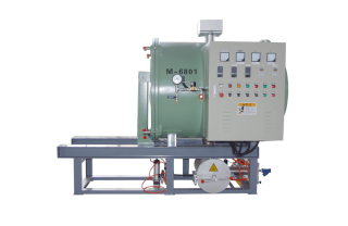 Horizontal Vacuum Pyrolysis Cleaning Furnace