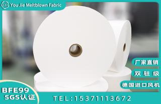Factory directly sell BFE99% PFE95% Filter Meltblown nonwoven fabric