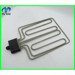 High Power 240V W Shape Finned Tubular Heater Electric   Heating Element for Air Heater