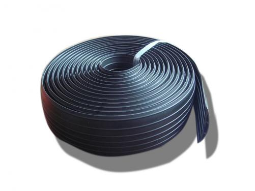 ONE METER Office Floor Cable Cover Rubber Wire Protector Indoor Use Floor Cable Cord Protector