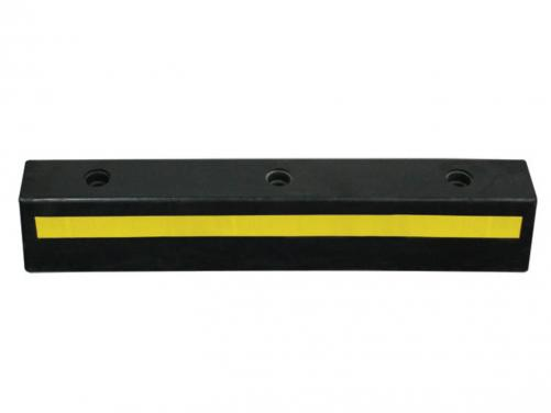 750mm plastic&rubber reflective parking blocker for garage
