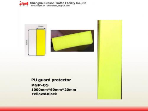 Good quality plastic yellow Foam PU wall-edge corner protector for safety