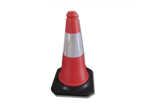 PE Red/Yellow/Orange/Blue Coloed Traffic Road Safety Cone For Construction