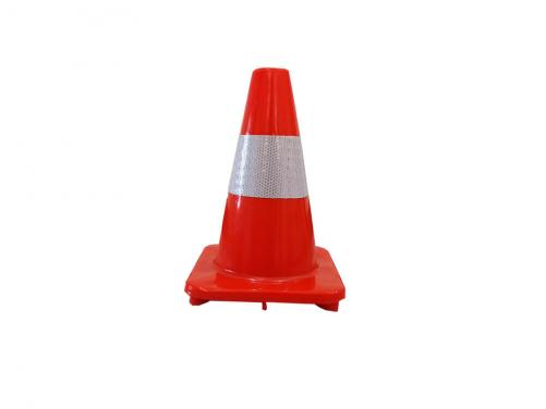 30 CM Orange Flexible Reflective PVC Safety Used Traffic Cone Road Cone