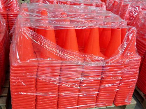 Reflective Road Safety Equipment PVC Used Traffic Cone