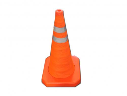 ABS Road Traffic Collapsible Expandable Retractable Traffic Cone
