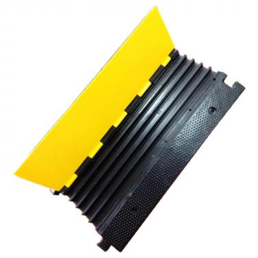 Heavy Duty 5 channel Rubber floor wire protetor de cabo for car