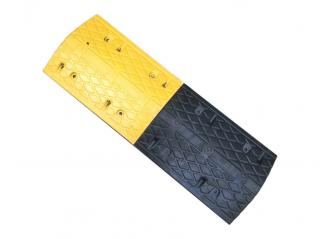 500mm*350mm*50mm Rubber Driveway Speed Bump,Rubber Speed Bumps for Sale