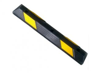 900 rubber parking curb for car safety with reflective mark