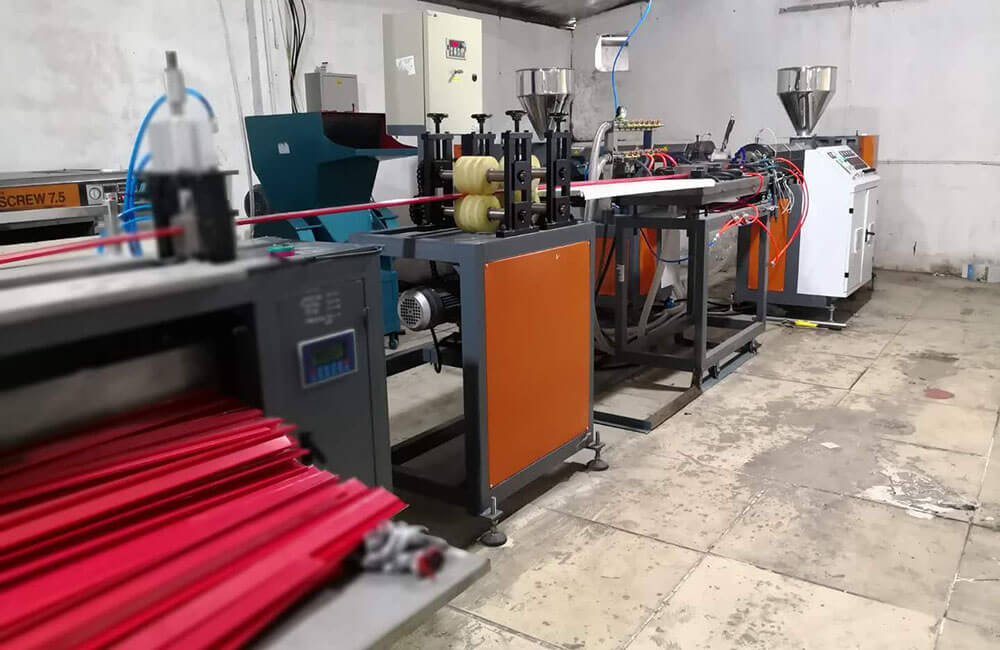 PVC Data Strip Production Line