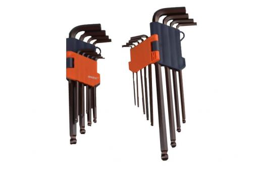9PCS S2 Ball Hex Key Wrench