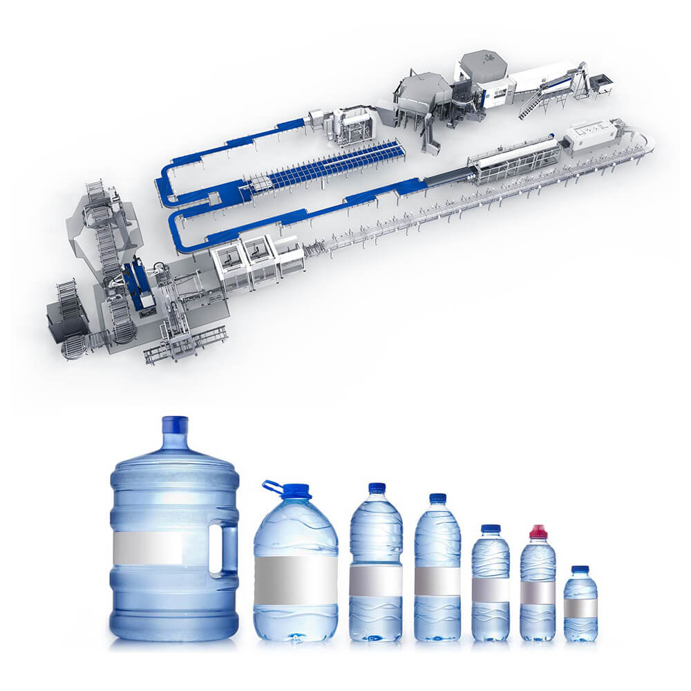 BOttle Water Producing Line