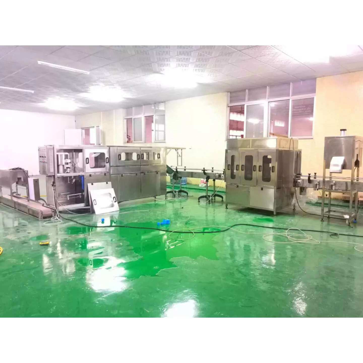 360BPH Barreled 19L Mineral Water Production