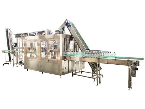 Automatic Carbonated Soft Drinks Energy Drinks Sodi Filling Production Line