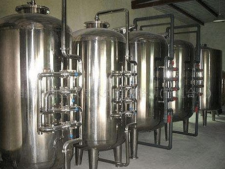 Mineral Water Purification System Machine  Equipment For Beverage