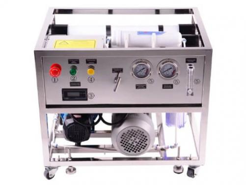 Full Automatic Seawater Desalinator  System  Equipment Device Machine