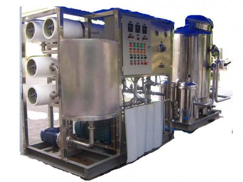 Water Filter Treatment Machine 30T Seawater Desalination System
