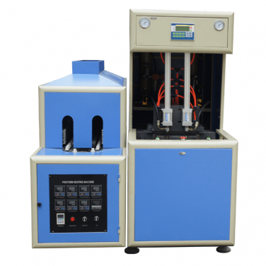 120 BPH Semi Automatic PET Bottle Blowing Machine For5-10L