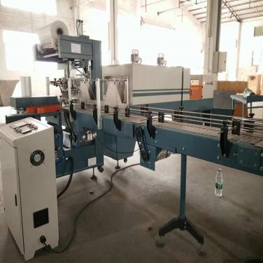 Automatic Film Shrink Wrapping Machine Heat Tunnel Tube Wrap Packaging