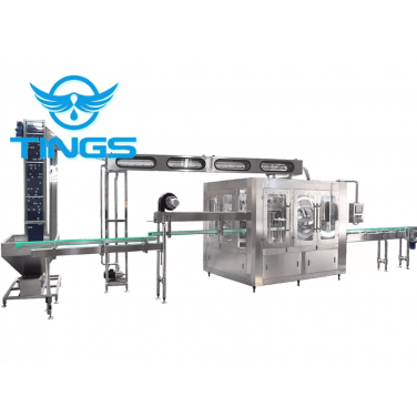 3000BPH Automatic Washing Filling Capping Machine