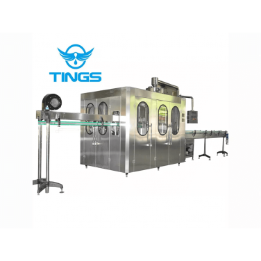 Liquid Washing Filling Capping Machine (3-in-1, 24000B/H,500ml)
