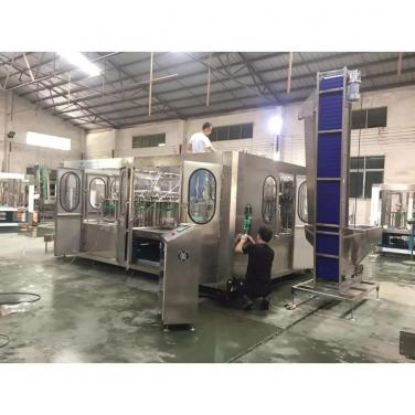 18000BPH Bottle Washing Filling Capping Machine Carbonated Drink Automatic Water Filling Machine