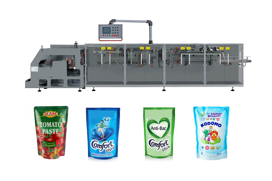 automatic multi heads weighing dried fruit packaging machine