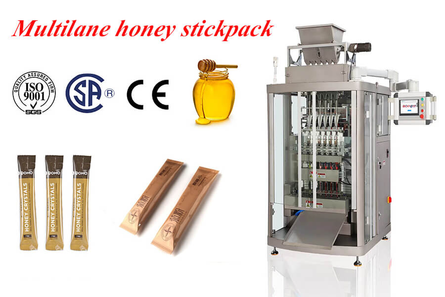 honey stick packing machine