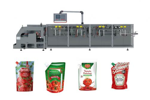 Tomato paste sauce Ketchup Spout Pouch Packing Machine