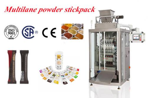 milk powder stick bag machine