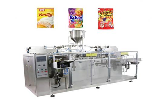 sugar Premade Flat Pouch Packing Machine