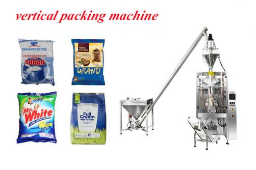 gusseted bag packing machine for coffee bean