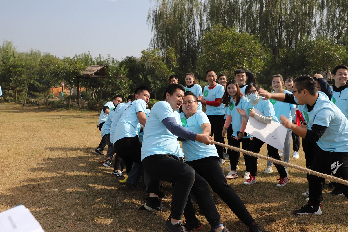 Constant vitality, youthful youth; release passion, win-win cooperation-Shandong Hengwang Group Autumn Games was a complete success!