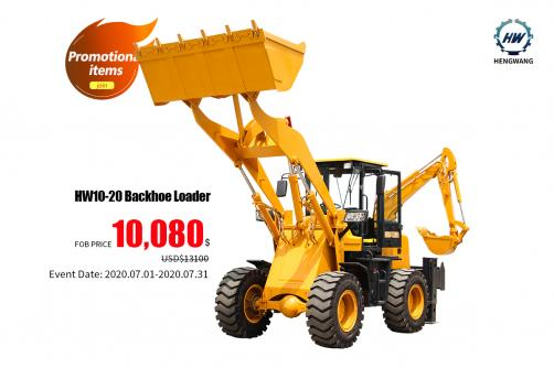 hot sale!!! HW10-20 Backhoe Loader
