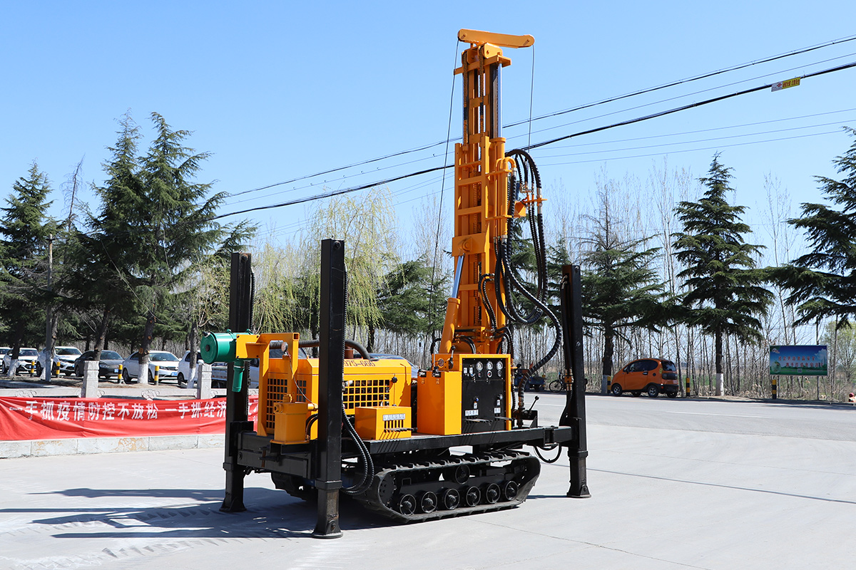 Promotion!!! HQZ220L Pneumatic Drill Rig