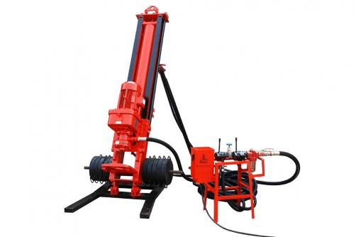 HQ100 DTH Drilling Rig