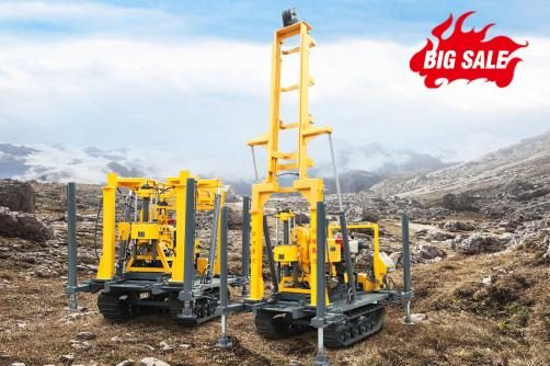 Promotion!!! HW-230L Hydraulic Drilling Rig