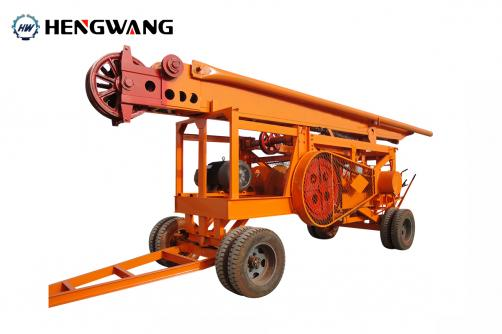 HW-90 Percussion Drilling Rig