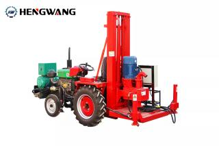HW-100 Tractor Positive Circulation Drilling Rig