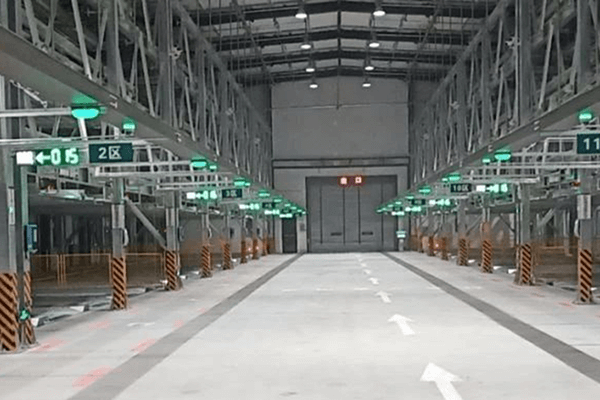China's first intelligent three-dimensional parking garage charging station put into operation