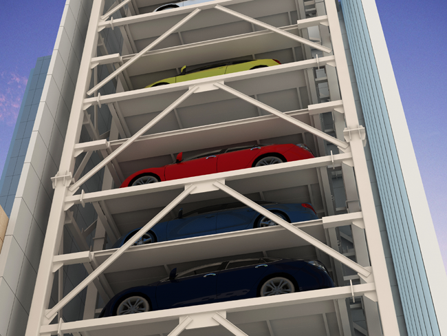 Vertical Lifting Parking