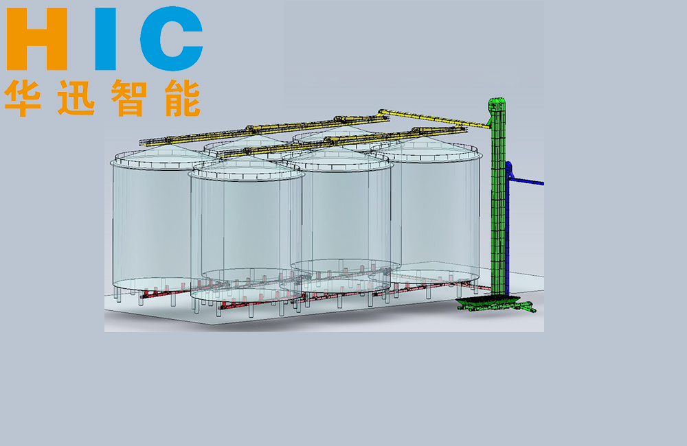 Drag Chain Conveyor & Bucket Elevator for Steel Silo Inlet/Outlet/Backwarding System