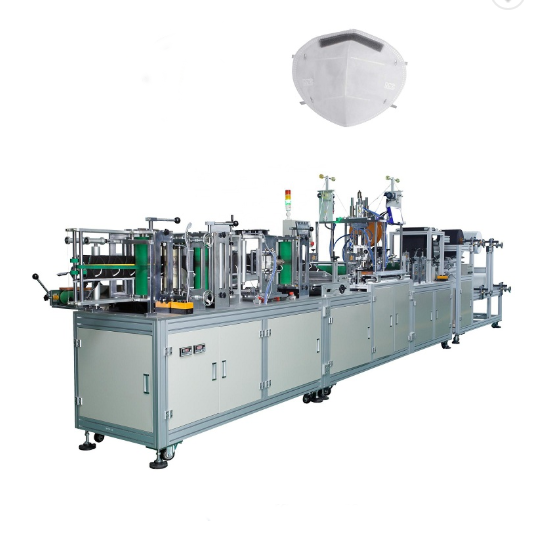 Popular Choice Full automatic Folding Mask Machine N95 Face Mask Making Machine