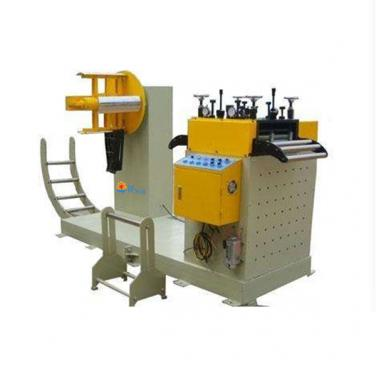 High Precision 2 in 1 NC Servo decoiler Uncoiler Straightener