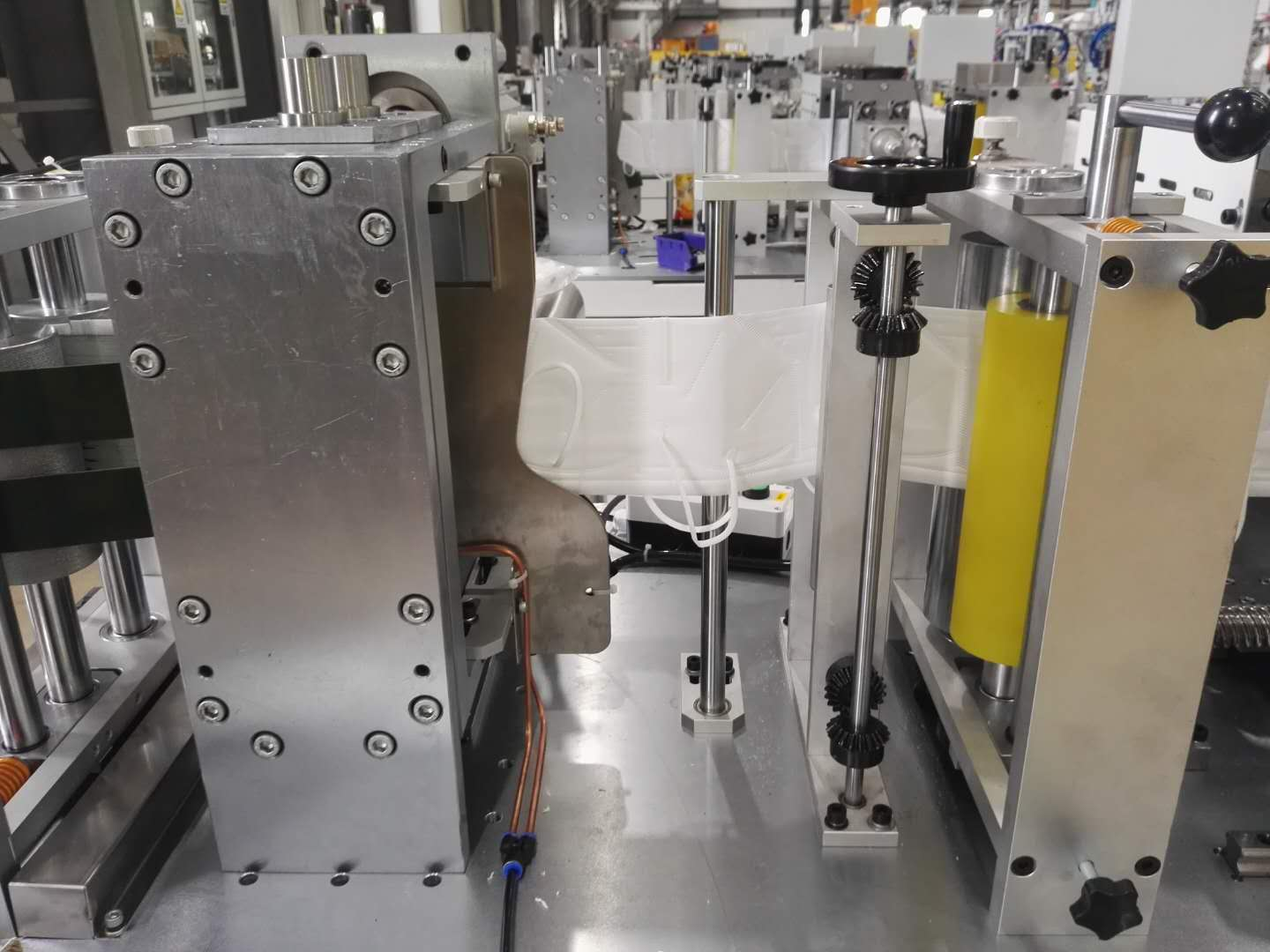 N95 Mask making machine has in ready for shipment
